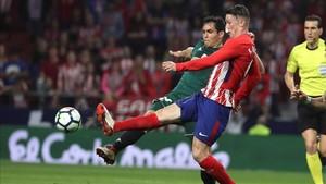 El Atlético encadenó su segundo tropiezo consecutivo