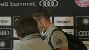 Bale a lo suyo: así salía del estadio tras no ser convocado con el Real Madrid