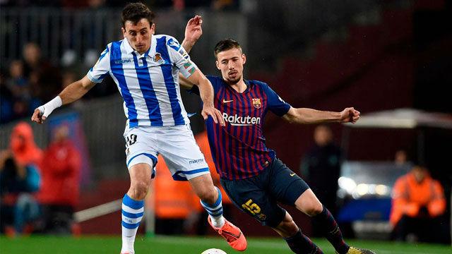 ¡El Barça cabalga hacia la gloria! Así narró la radio el gol de Lenglet