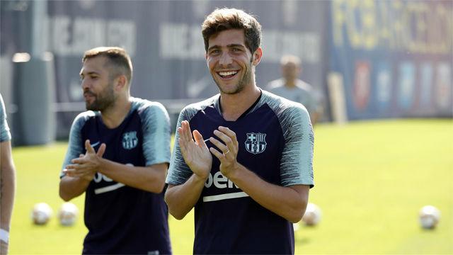 El Barça comienza a preparar el partido ante el Girona