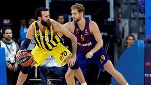 El Barça peleó pero no pudo evitar el KO ante el Fenerbahçe