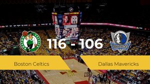 Boston Celtics se hace con la victoria en el TD Garden contra Dallas Mavericks por 116-106