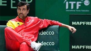 Bruguera, capitán español de Copa Davis