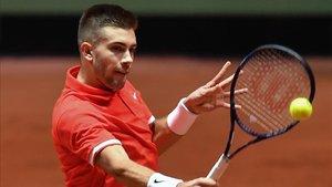 Coric, el debut ganador para Croacia