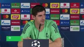 Courtois: Bale está 100% implicado