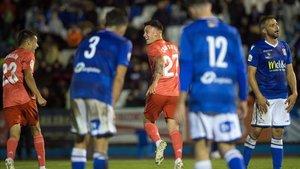 Cristo debutó con el Madrid con gol en la Copa en Melilla