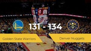 Denver Nuggets consigue derrotar a Golden State Warriors en el Chase Center (131-134)