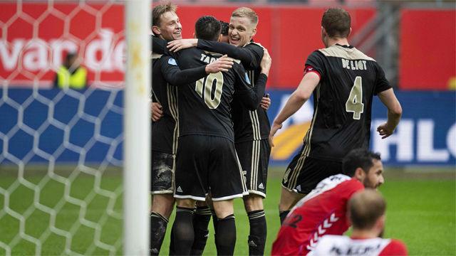 El deseado Frenkie de Jong anota de nuevo un gol made in Ajax