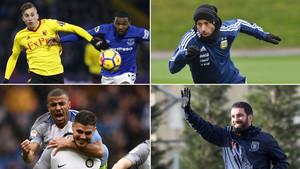 Deulofeu (Watford), Mascherano (Hebei Fortune y Argentina), Rafinha (Inter) y Arda Turan (Basaksehir)