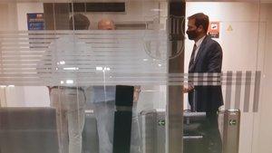 Día de reuniones en las oficinas del Barça para tratar el futuro de Luis Suárez