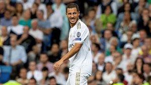 Eden Hazard no está brillando demasiado en sus inicios en el Real Madrid