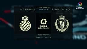 El Espanyol mira a Europa y pone contra las cuerdas al Valladolid