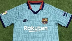huge selection of 858ad cfb29 FC Barcelona's third kit for the 2019/20 season has been leaked