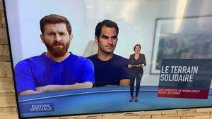 En Francia se equivocaron con una imagen de Leo Messi