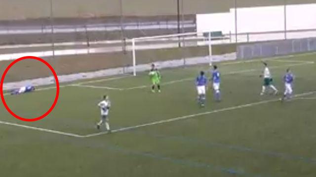 El gesto más deportivo del CD Pamplona y el Ardoi
