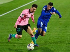 Getafe CF, 1 - FC Barcelona, 0