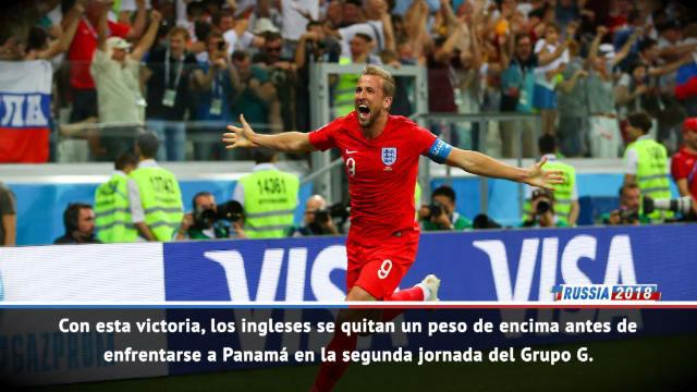Harry Kane da la victoria a Inglaterra en el último instante