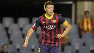 Ilie, en su etapa en el filial del Barça