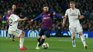 Imagen del clásico disputado la pasada campaña en el Camp Nou