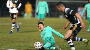 James Rodríguez ya jugo la ronda de Copa anterior contra Unionistas