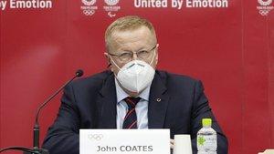 John Coates, vicepresidente del Comité Olímpico Internacional