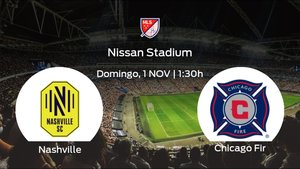 Jornada 23 de la Major League Soccer: previa del duelo Nashville SC - Chicago Fire