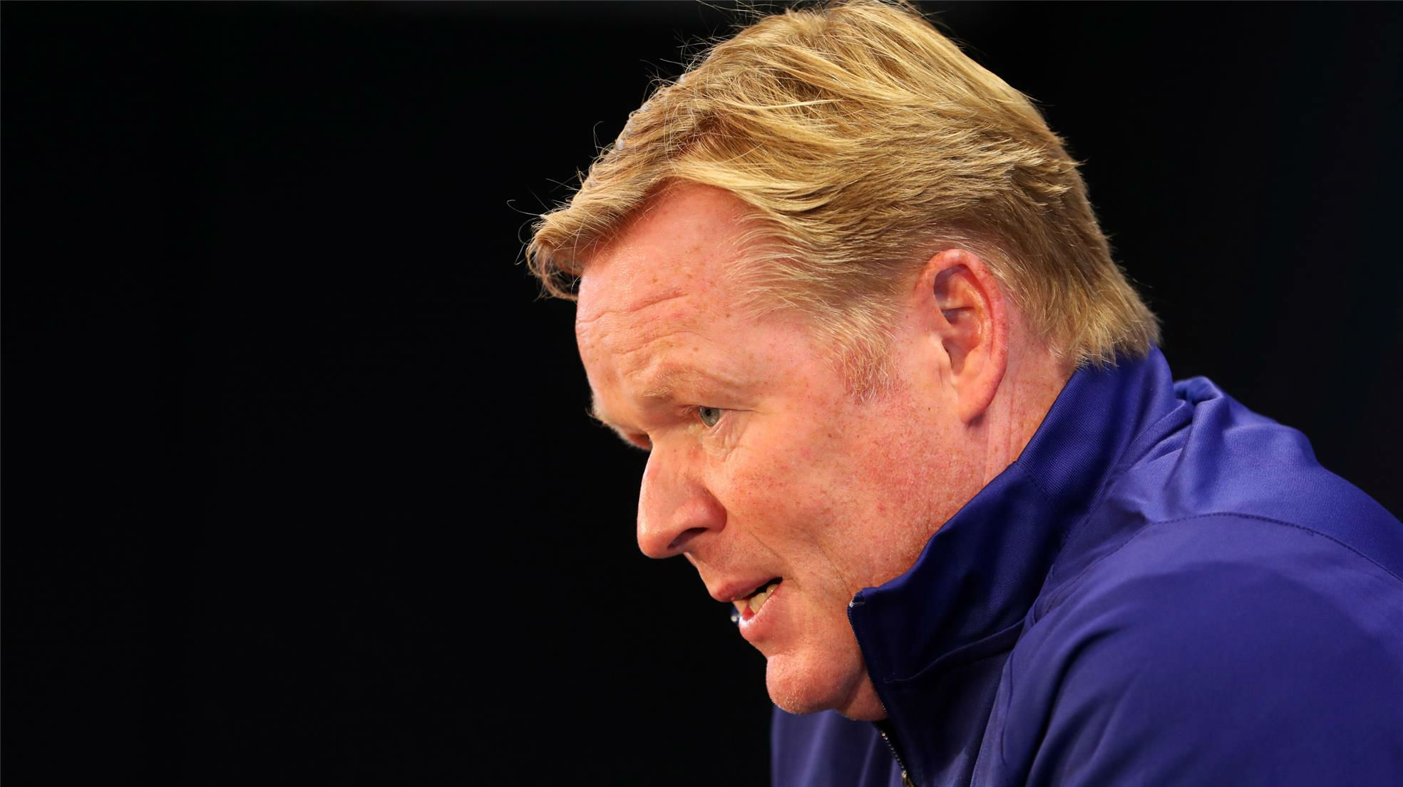 Koeman: No espero a un Madrid vulnerable