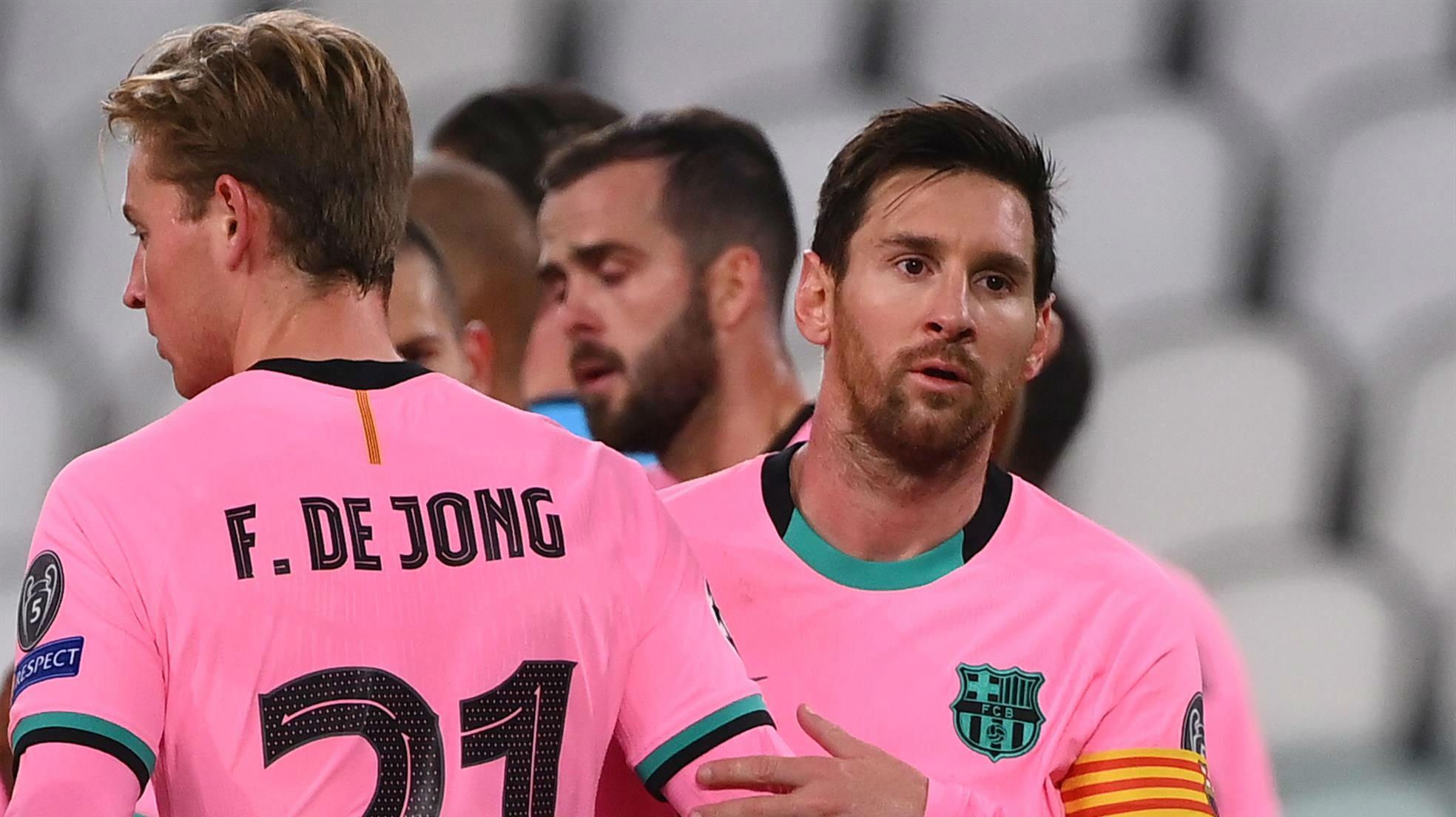 Koeman explica las bajas de De Jong y Leo Messi en la lista de convocados