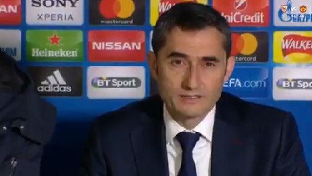 LACHAMPIONS | Chelsea - FC Barcelona (1-1): Valverde: El partido ha sido un choque de estilos