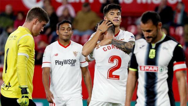 LACOPA | Sevilla - Cartagena (4-0)