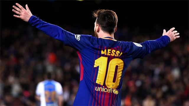 LALIGA | FC Barcelona - Leganés (3-1): Messi redondeó el partido con un hat-trick
