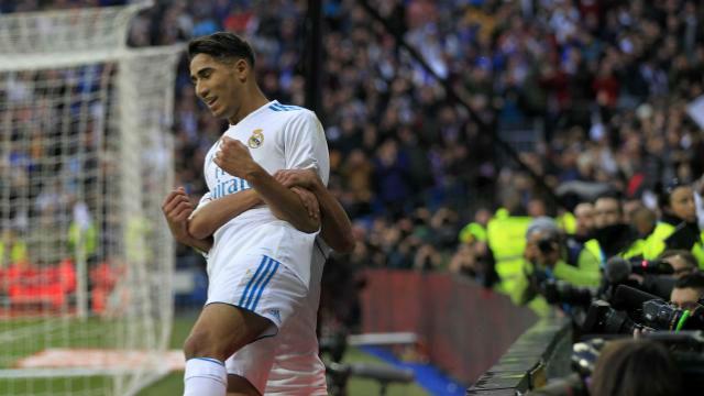 LALIGA | Real Madrid - Sevilla (5-0): El gol de Acrhaf con el Real Madrid