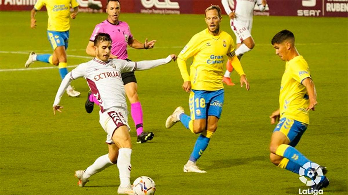 Las Palmas empató el partido en el minuto 90