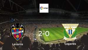 Leganés fall to Levante with a 2-0 at Ciudad de Valencia