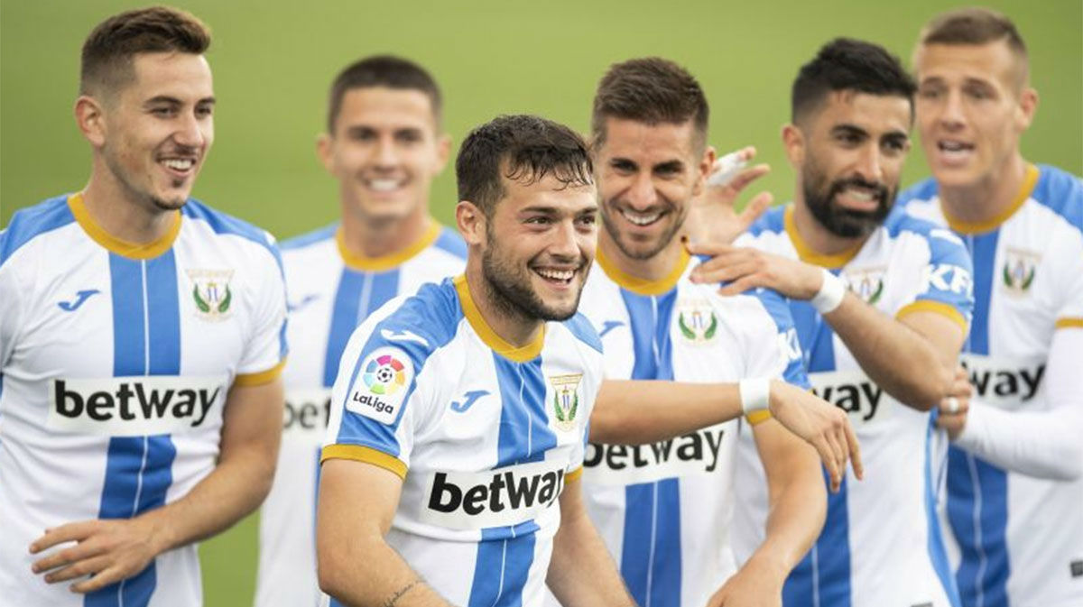 El Leganés se impone por la mínima al Zaragoza