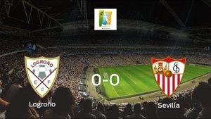 El Logroño Femenino y el Sevilla Femenino firman un empate sin goles (0-0)