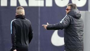 Luis Enriquue puede volver a dar instrucciones a Alba en breve