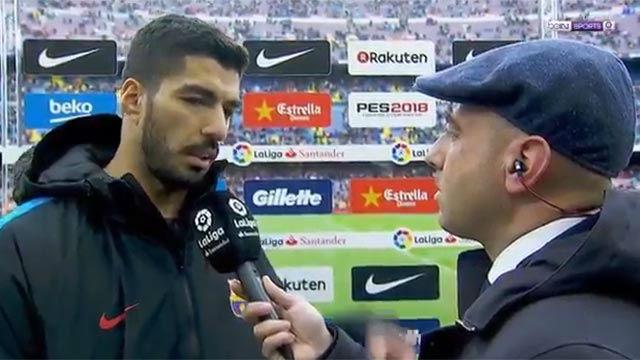 Luis Suárez: Ahora parece que no tuvieta tanto mérito la liga
