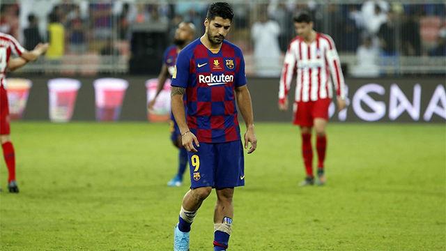Luis Suárez KO para cuatro meses
