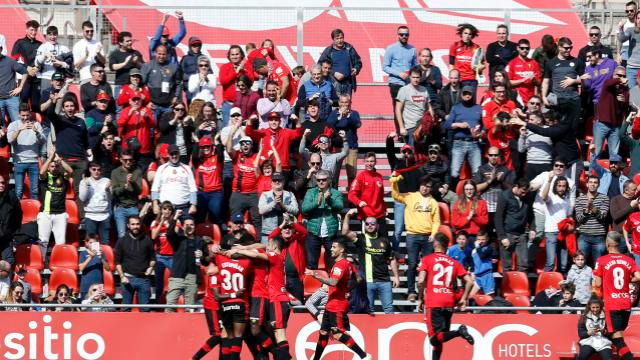 El Mallorca golea al Lugo