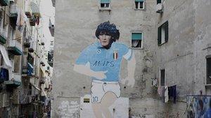 Maradona, icono de Nápoles