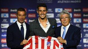 Mario Hermoso, entusiasmado con su nuevo equipo