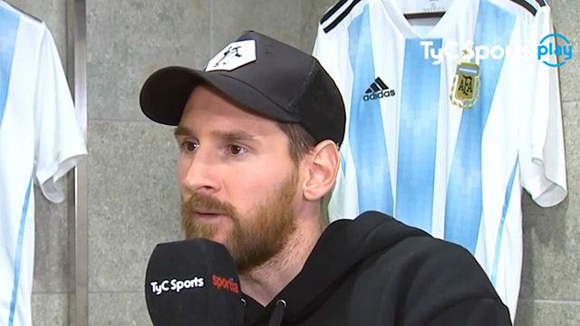 Messi habló de la posible salida de Mascherano