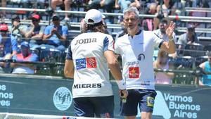 Mieres y Lamperti, adelante en Buenos Aires
