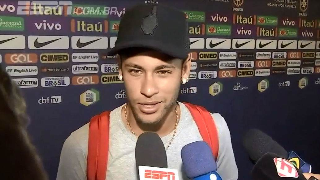 Neymar sobre la clasificación de la Argentina de Messi