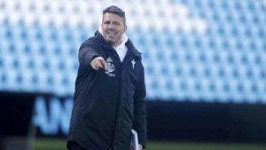 Òscar Garcia, técnico del Celta