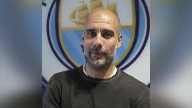 Pep Guardiola agradeció el premio al mejor entrenador del año