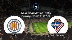Previa del partido de la jornada 9: Torredonjimeno contra Poli Almería