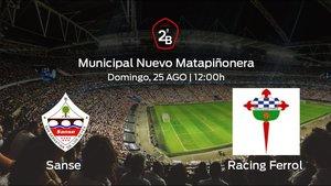 Previa del partido: primer partido del campeonato para el Sanse ante el Racing Ferrol