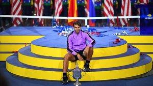 Rafa Nadal , flamante vencedor del US Open 2019